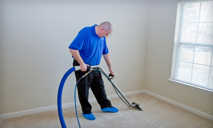 Priority Carpet and Tile Cleaning - Long Island: Two or Three Rooms of Carpet Cleaning from Priority Carpet and Tile Cleaning (Up to 54% Off)