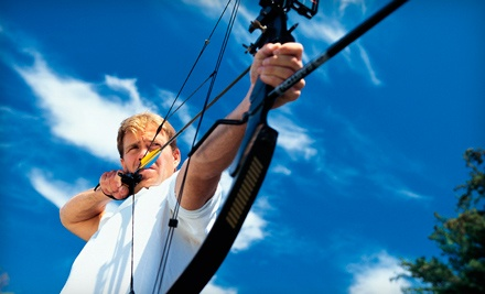 Archery Lesson for 2 or 2 Solo Lessons (a $70 value) - Grabow's and Arrows in Fultondale