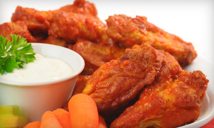 Wing Heaven - Multiple Locations: 12-Piece Wing Combo Meals for Two or Four at Wing Heaven (Up to 57% Off)