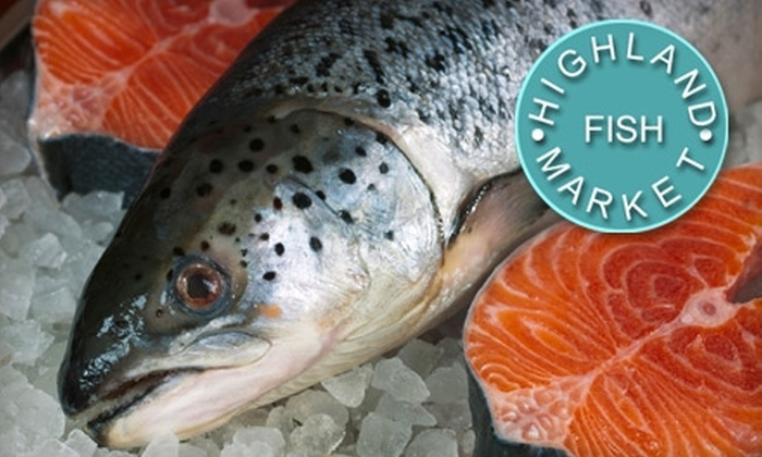 Highland Fish Market and Wine Shoppe - East Louisville: $10 for $20 Worth of Fresh Fish, Seafood, Lobsters, and More at the Highland Fish Market and Wine Shoppe