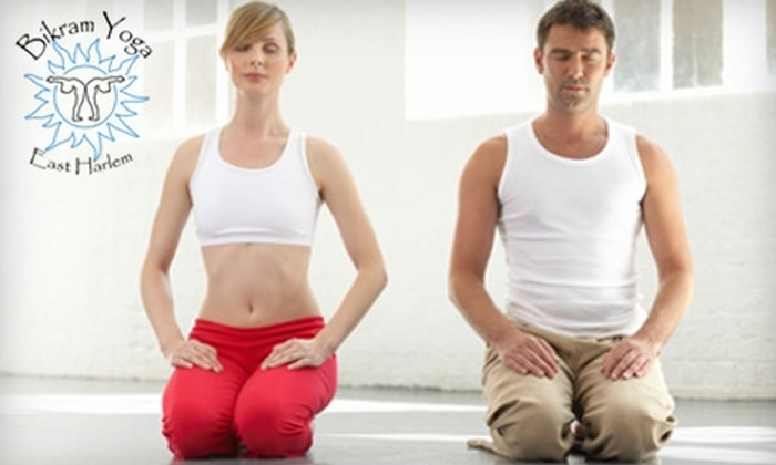 Bikram Yoga East Harlem - East Harlem: $49 for One Month of Unlimited Classes at Bikram Yoga East Harlem ($170 Value)
