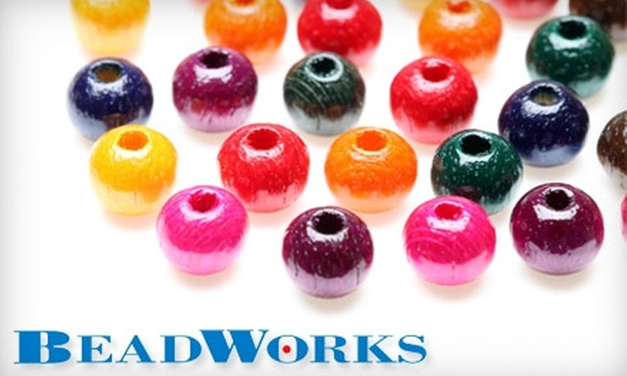 Beadworks - Multiple Locations: $25 for $50 Worth of Beads, Crystals, Findings, and Jewellery Tools at Beadworks