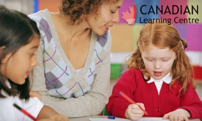 Canadian Learning Centre - Multiple Locations: $55 for a Skills Assessment and Four One-Hour Tutoring Sessions at Canadian Learning Centre ($149 Value)