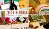 Vine and Table - Carmel: $12 for $25 Worth of Gourmet Groceries and Café Fare at Vine and Table