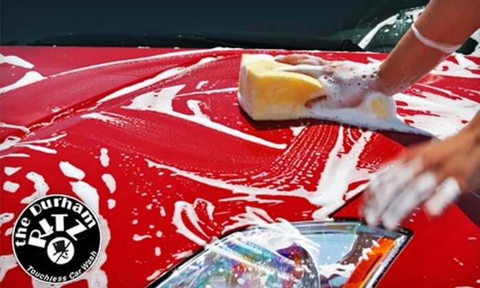 The Durham Ritz Carwash - Durham: $85 for a Complete Interior and Exterior Detail for One Standard Car ($169 Value) or $99 for One SUV, Truck, or Crossover ($199 Value)