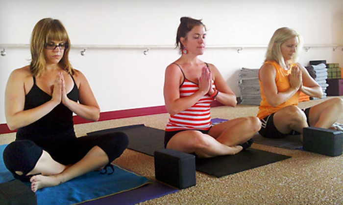 Dragonfly Hot Yoga - Fitchburg: $39 for a 10-Class Pass to Dragonfly Hot Yoga (Up to $150 Value)