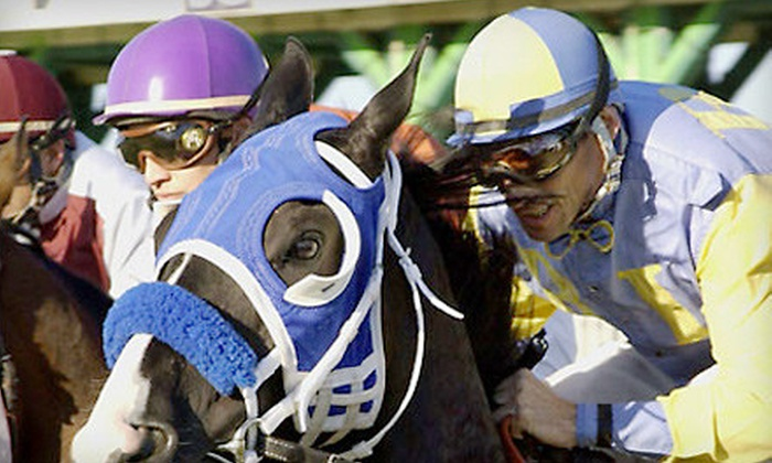 Sam Houston Race Park - Houston: Horseracing Outing for Four or Private Suite for Up to 20 at Sam Houston Race Park (Up to 51% Off)