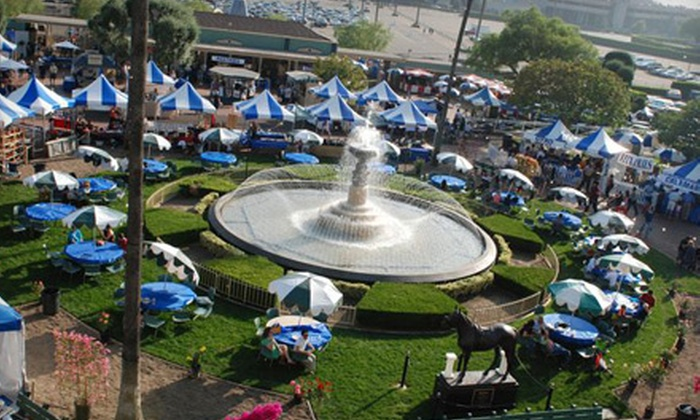 Pasadena Greek Fest - Arcadia: $20 for Four Tickets, Two Raffle Tickets, and a $10 Voucher for Eats at Pasadena Greek Fest in Arcadia on September 16–18 ($50 Value)