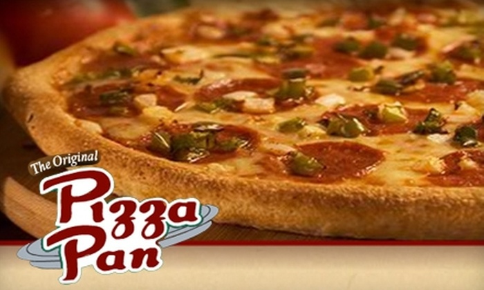 Pizza Pan - Merion Village: $15 for $30 Worth of Pizza and Ribs at Pizza Pan