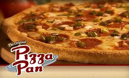 $30 Groupon to Pizza Pan - Pizza Pan in Columbus
