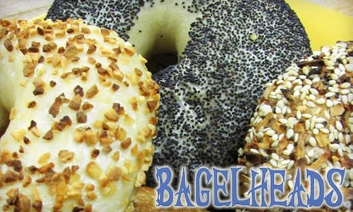 Bagelheads Delicatessen - Tallahassee: $4 for $8 Worth of Bagel Creations, Coffee, and More at Bagelheads Delicatessen