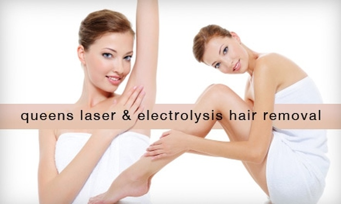 Queens Laser and Electrolysis Hair Removal  - Elmhurst: $99 for Three Laser Hair-Removal Treatments from Queens Laser and Electrolysis Hair Removal (Up to $600 Value)
