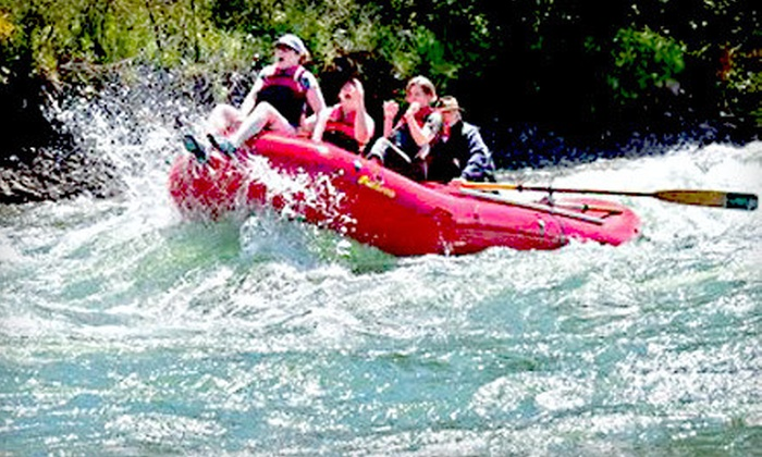 North Santiam River Trips - East Marion: $40 for Rafting Trip from North Santiam River Trips in Mill City ($89 Value)