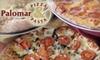 Palomar Pizza & Pasta - Vista: $10 for $25 Worth of Pizza and More at Palomar Pizza & Pasta in Vista