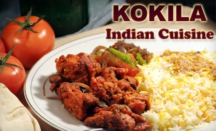 $40 Groupon to Kokila Indian Cuisine - Kokila Indian Cuisine in Lewisville