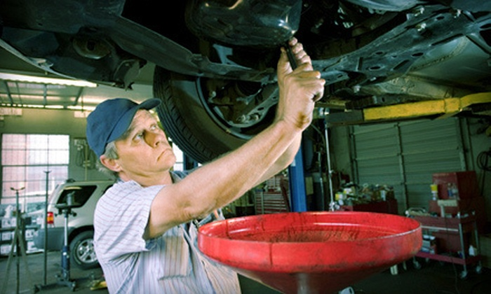 DJ's Auto Care Inc. - Sherwood: Oil Change and 100-Point Inspection, or Air-Conditioning Inspection at DJ's Auto Care Inc. (Up to 69% Off)