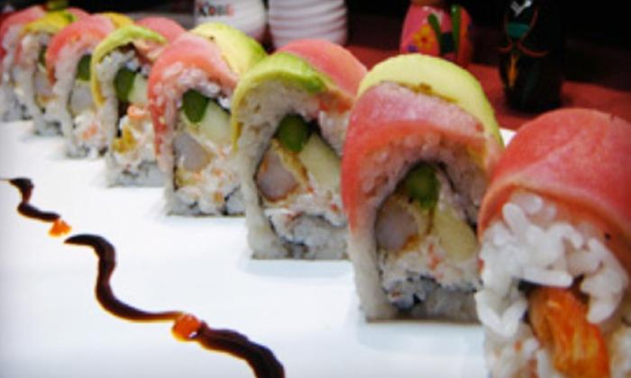 Kobe Japanese Steakhouse - San Marcos: Teppan Dinner for Four or Japanese Cuisine at Kobe Japanese Steakhouse in San Marcos