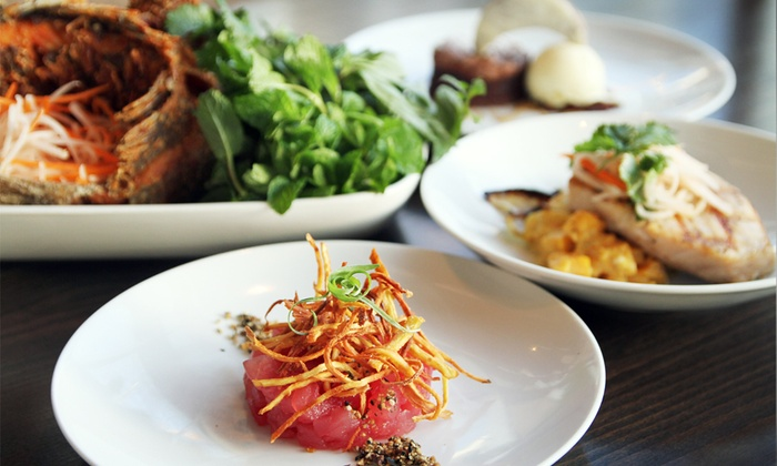 Flying Fish - South-Lake Union: $50 for a Three-Course Seafood Meal for Two