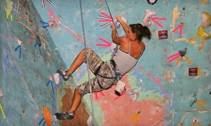 The Phoenix Rock Gym - Tempe: $8 for One-Day Rock-Climbing Pass with Equipment Rental to The Phoenix Rock Gym in Tempe ($16 Value)