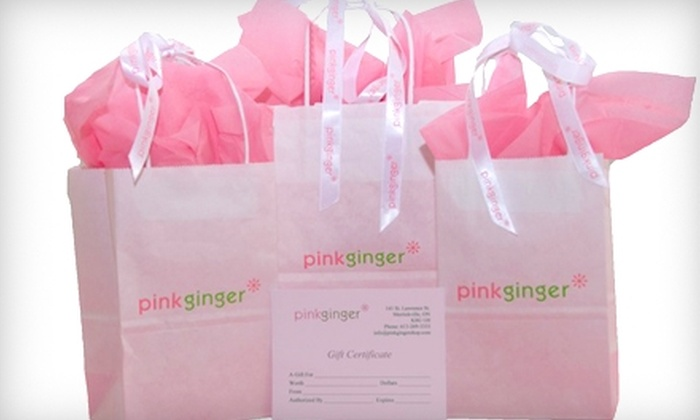 pinkginger - Merrickville: $20 for $40 Worth of Organic Skincare Products at pinkginger