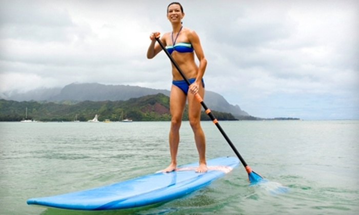 Potomac Paddlesports - Multiple Locations: $72 for Beginner Paddleboard Lesson ($145 Value) or $37 for Paddleboard Rental ($75 Value) at Potomac Paddlesports in Rockville