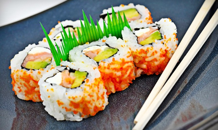 Shogun Japanese Restaurant - Jenkinsburg Station: $12 for $25 Worth of Sushi and Hibachi Fare at Shogun Japanese Restaurant
