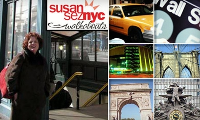SusanSez NYC Walkabouts - Fordham Manor: $25 for Walking Taste Tour of Arthur Avenue from SusanSez NYC Walkabouts