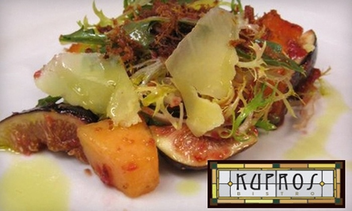 Kupros Bistro - Midtown: $15 for $30 Worth of Upscale Cuisine at Kupros Bistro