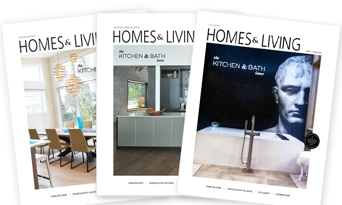 "Homes & Living magazine: C$15 for One Year Subscription to ""Homes & Living"" magazine (C$37.57 value)"