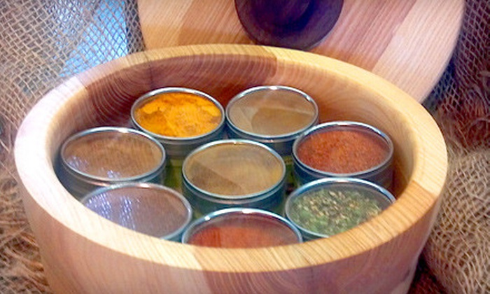 Milford Spice Company - Detroit: 10- or 33-Piece Spice Package from the Milford Spice Company (Up to 50% Off). Ships in 30 to 35 days. May not arrive by 12/24.