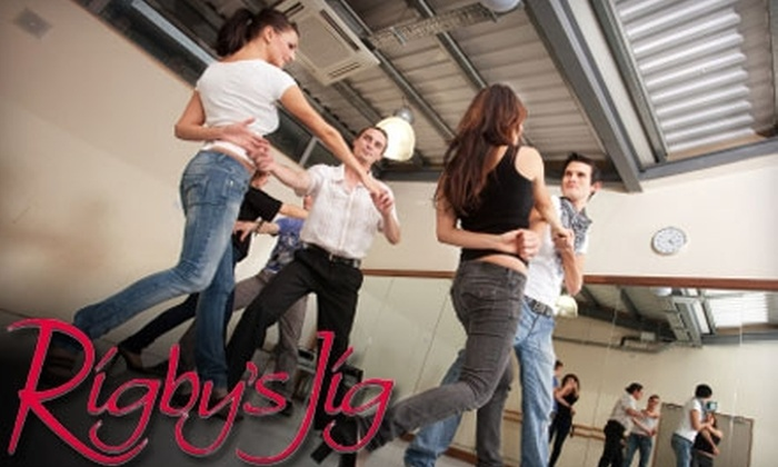 Rigby's Jig - Brookland: $30 for One Month of Unlimited Group Dance Classes and Dance Parties at Rigby's Jig ($60 Value)