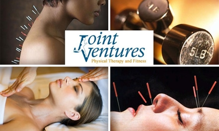 Joint Ventures - Multiple Locations: $45 for Your Choice of Massage, Acupuncture, or Personal Training at Joint Ventures Physical Therapy and Fitness ($85 Value)