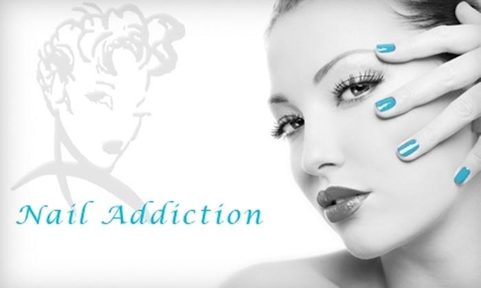 Nail Addiction Dayspa - Gahanna: $15 Mani-Pedi at Nail Addiction ($32 Value)