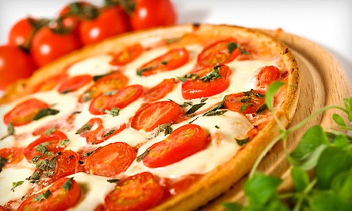 Papa Toni's Pizza - Encinitas: Pizza Meal with Garlic Bread and Salad for Two or Four at Papa Toni's Pizza (Up to 59% Off)