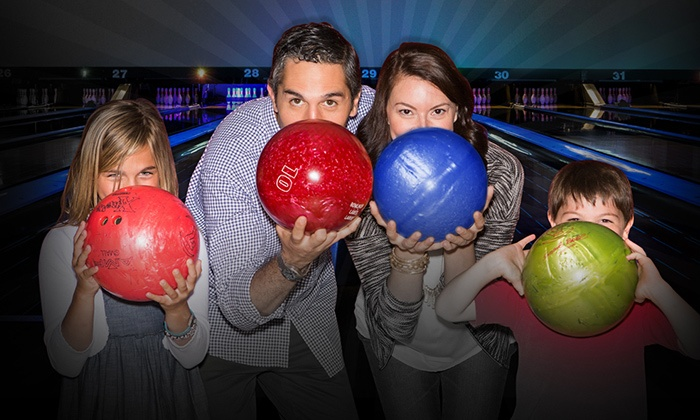 Brunswick Zone - Multiple Locations: Bowling Outing with Shoe Rental for Two, Four, or Six at Brunswick Zone ( 51% Off )