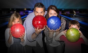 Brunswick Zone: Bowling Outing with Shoe Rental for Two, Four, or Six at Brunswick Zone ( 43% Off )