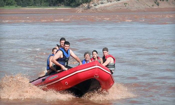 Fundy Tidal Bore Adventures - South Maitland: $99 for Two-Hour River-Rafting Adventure for Four at Fundy Tidal Bore Adventures in South Maitland (Up to $240 Value)