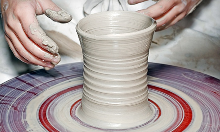 Desert Dragon Pottery - Phoenix: Beginning Pottery Wheel Classes at Desert Dragon Pottery (Up to 58% Off). Three Options Available.