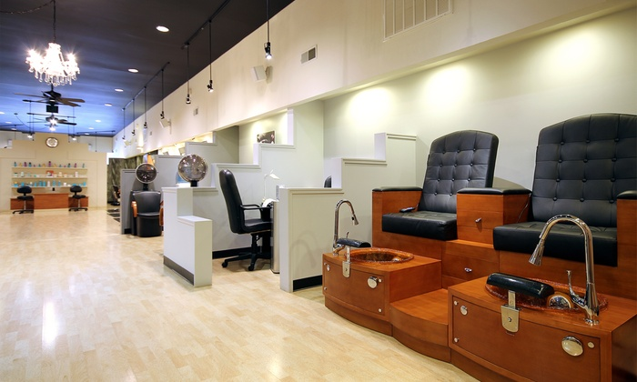 Heroes and Hairoines Salon and Spa - Downtown San Rafael: $49 for Blowout Styling and a Makeup Application at Heroes and Hairoines Salon and Spa ($100 Value)