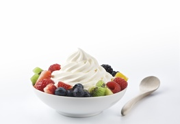 Hoopla Frozen Yogurt: One Frozen Yogurt with Toppings at Hoopla Frozen Yogurt of Wilkes-Barre (40% Off)