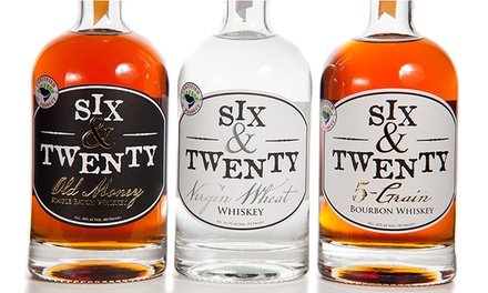 Distillery-Tour Package for Two at Six and Twenty Distillery (Up to 50% Off). Two Options Available.