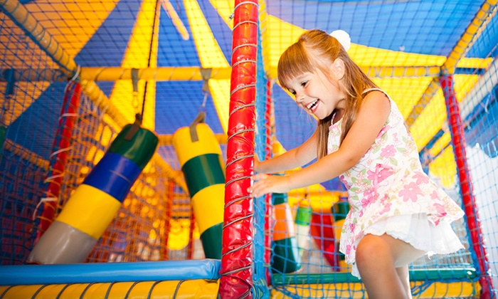 Playworld - Grandville: Admission for Two or Four Children 12 or Younger at Playworld (41% Off)
