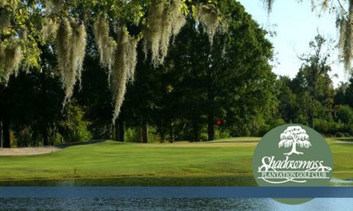 Shadowmoss Plantation Golf Club - Shadowmoss: $40 for a Round of Golf for Two and Cart Rental at Shadowmoss Plantation Golf Club (Up to $86 Value)