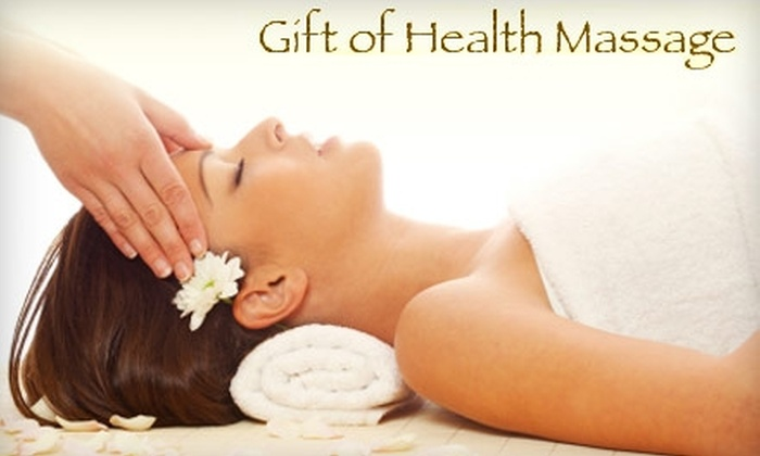 Gift of Health Massage - Southern Plaza: $30 for a One-Hour Swedish Massage ($60 Value) or $35 for a One-Hour Deep-Tissue Massage ($70 Value) at Gift of Health Massage
