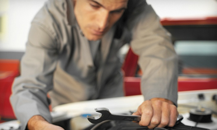 The Tire Choice & Total Car Care - Multiple Locations: Automotive Maintenance Services at The Tire Choice & Total Car Care. Three Options Available. (Up to $75 Value).