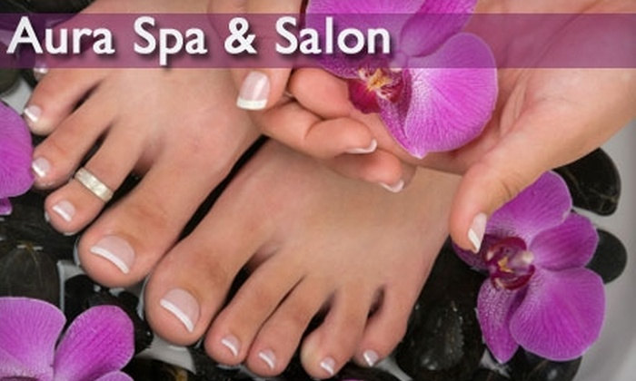 Aura Spa & Salon at the Hilton Richmond Hotel - Three Chopt: $45 for a Manicure and Pedicure at Aura Salon & Spa at the Hilton Richmond Hotel and Spa