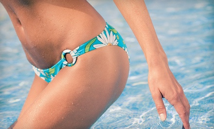 8 Laser Hair-Removal Treatments on a Small Area (a $1,000 value) - The Slinky Bikini in Brighton