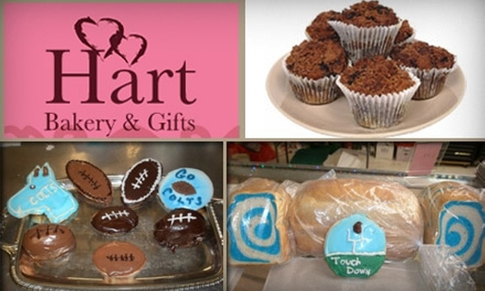 Hart Bakery & Gifts - Warren: $6 for $12 Worth of Sweet Desserts and Collectibles at Hart Bakery and Gifts