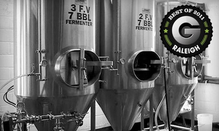Boylan Bridge Brewpub - University: Brewery Tour with Souvenir Pint Glasses and Tastings for Two at Boylan Bridge Brewpub (Up to 64% Off)