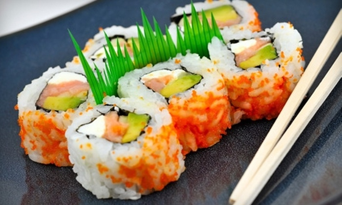 Orchid Japanese Restaurant - North Raleigh: $12 for Sushi and More at Orchid Japanese Restaurant ($24 Value)